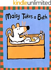 Maisy Takes A Bath: Children's puzzle picture book (English Edition)
