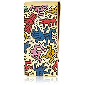 [キース・ヘリング] Keith Haring マネークリップ(ゴールド×マルチ) HRMZ0001 VA