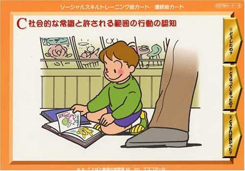 連続絵カードC 社会的な常識と許される範囲の行動の認知 ソーシャルスキルトレーニング絵カードの詳細を見る