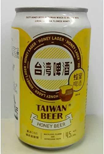 台湾ハニービール330ml/缶 蜂蜜ビール【中華料理に最適】台湾フルーツビール・台湾ビール
