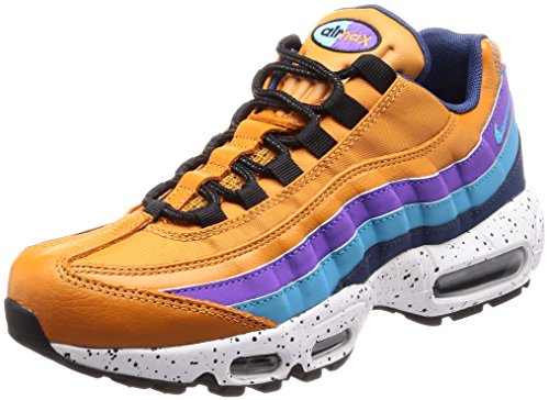 [ナイキ] AIR MAX 95 PRM 538416-800 Monarch/LT Blue Fury-Navy-Hyper Grape 27.5 cm