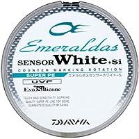 ダイワ(Daiwa) PEライン エメラルダスセンサー ホワイト +Si 150m 0.8号 10lb 7lb ホワイト 942652