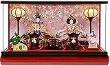 雛人形 強化アクリルケース 雛人形 親王飾り  No.306-69