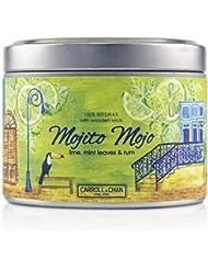 キャンドル?カンパニー Tin Can 100% Beeswax Candle with Wooden Wick - Mojito Mojo (8x5) cm並行輸入品
