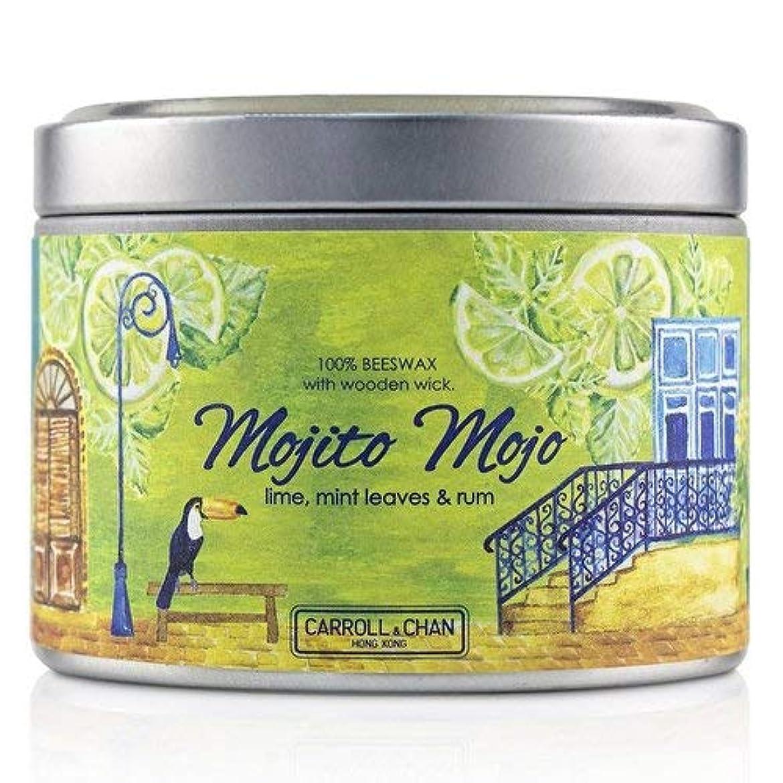 最終推進、動かすワークショップキャンドル?カンパニー Tin Can 100% Beeswax Candle with Wooden Wick - Mojito Mojo (8x5) cm並行輸入品