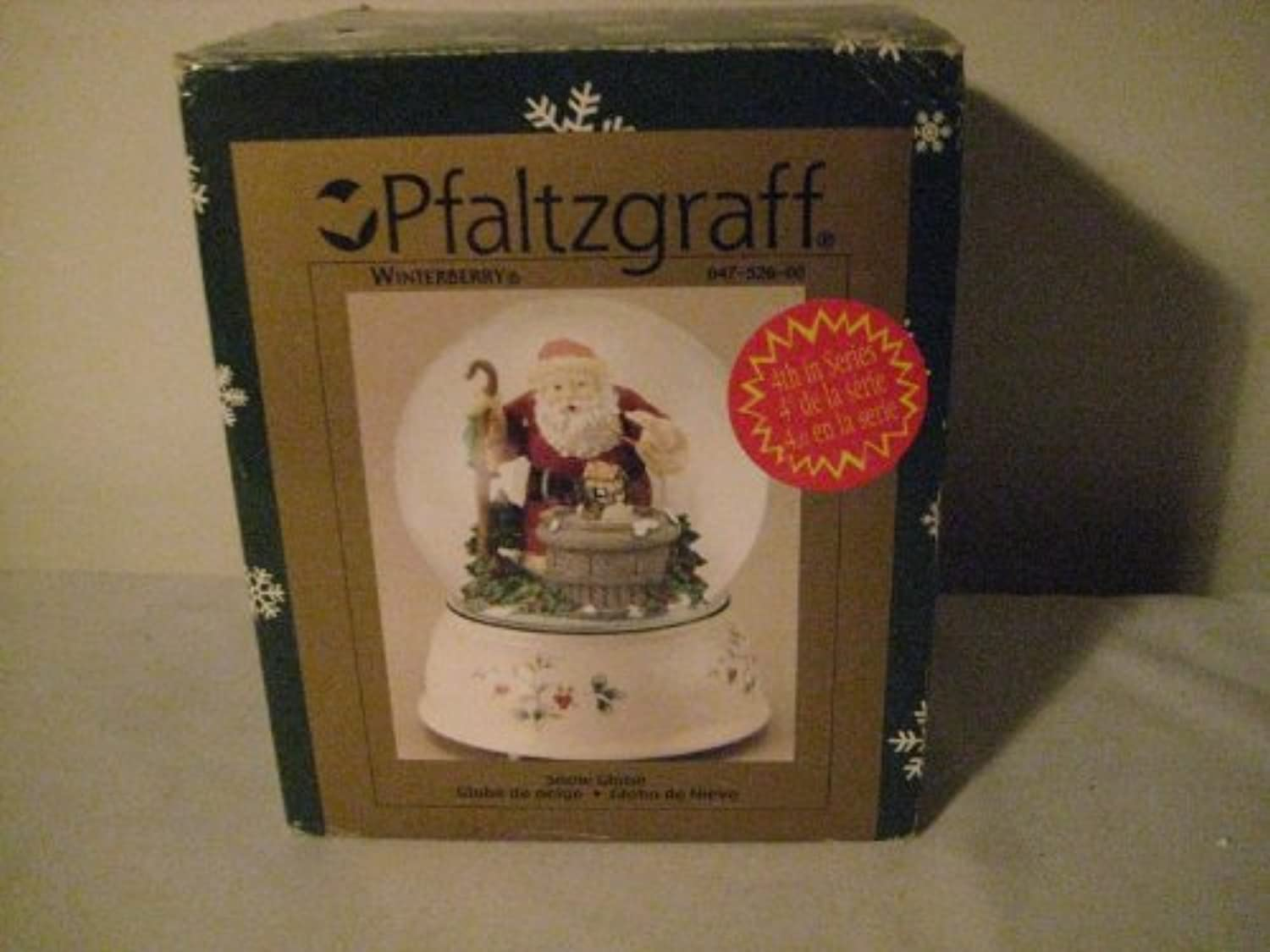 Pfaltzgraff Winterberry Snow Globe