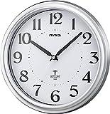 MAG(マグ) 電波壁掛け時計 アストル アナログ表示 シルバー W-649SM-Z