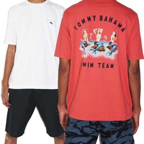 【Tommy Bahama トミーバハマ】Swim Team メンズ半袖Tシャツ