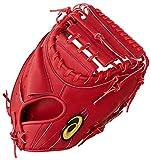 アシックス 野球 軟式 グラブ GOLDSTAGE ゴールドステージ 捕手用(ヨコ) LH(右投げ用) J.S.B.B.ルール対応 3121A566 Fブラウン