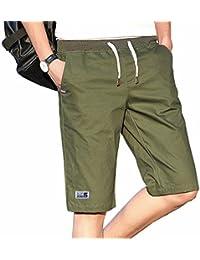 半ズボン メンズ M-5XL 大きいサイズ 短パン カジュアル 夏 5分丈 綿 調整紐 ポケット付き ストレッチ シンプル ゆったり 通気性 部屋着 お出かけ 無地 ハーフパンツ ボトムス 全5色