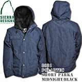 Polartec Short Parka 8031: Midnight / Black