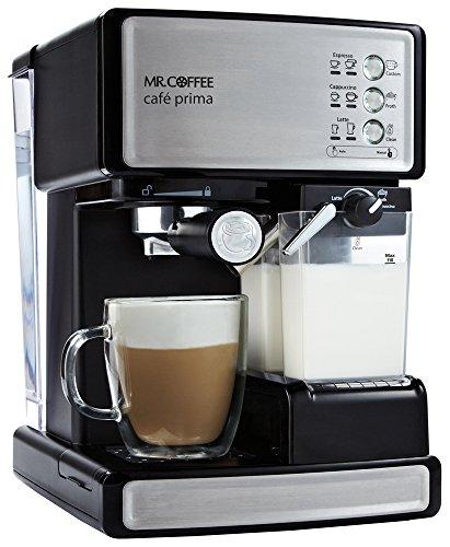 Mr. Coffee(ミスターコーヒー) 【エスプレッソ・カプチーノ・カフェラテ対応】 Cafe Prima(カフェ プリマ) BVMCEM6601J