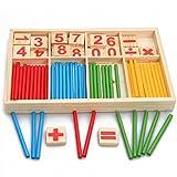 Xiziモンテッソーリ数学知能スティックプリスクール早期教育おもちゃ