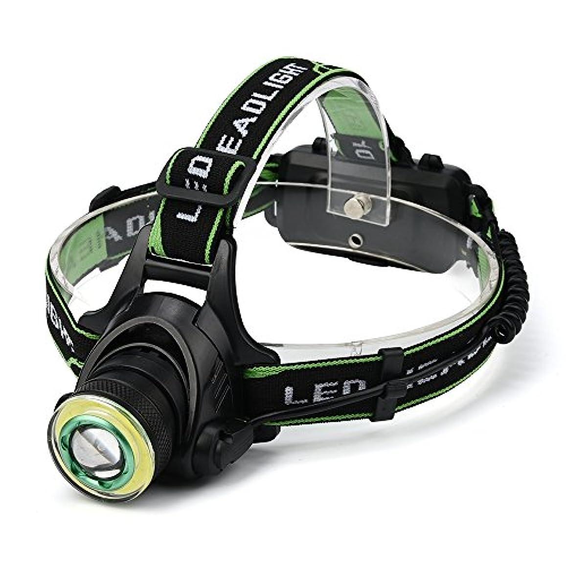 ブラケットつかまえる適応スーパーブライト Ledヘッドライトヘッドライト充電式usbヘッドランプ照明懐中電灯トーチ用2×18650バッテリー用ヘッドランプ屋外ハイキング釣りキャンプ