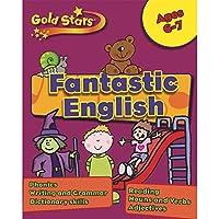 Gold Stars KS1 English Workbook Age 6-8 (Gold Stars Workbook Packs)