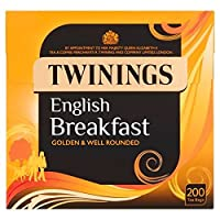 1パックトワイニングイングリッシュブレックファースト200 (x 6) - Twinings English Breakfast 200 per pack (Pack of 6) [並行輸入品]
