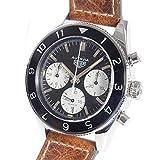 [タグホイヤー]TAG Heuer 腕時計 オータヴィア ヘリテージ キャリバー 02 クロノグラフ 中古[1332957] ブラックxシルバー 付属:国際保証書 ボックス