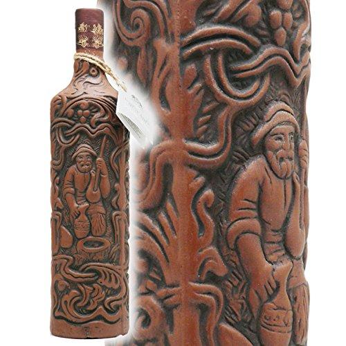 グルジア・ワイン サペラヴィ・クヴェヴリ 世界遺産製法 土着品種 陶器ボトル ドライ 赤 750ml
