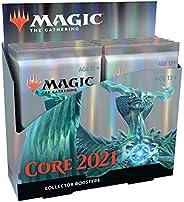 MTG マジック:ザ・ギャザリング 基本セット2021(M21) コレクター・ブースターパック 日本語版 12パック入り (BOX)