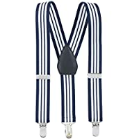 Kids and Baby Elastic Adjustable Solid Color Suspenders (Available in 3 sizes and 27 colors)