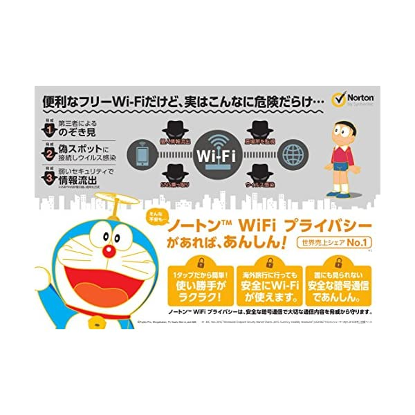 ノートンWiFiプライバシー (最新) |...の紹介画像3