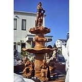 天然大理石彫刻 海神大噴水