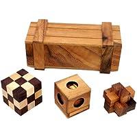 ROCKS MOTION・パンドラの箱(木製ボックス入り パズル 3個セット )