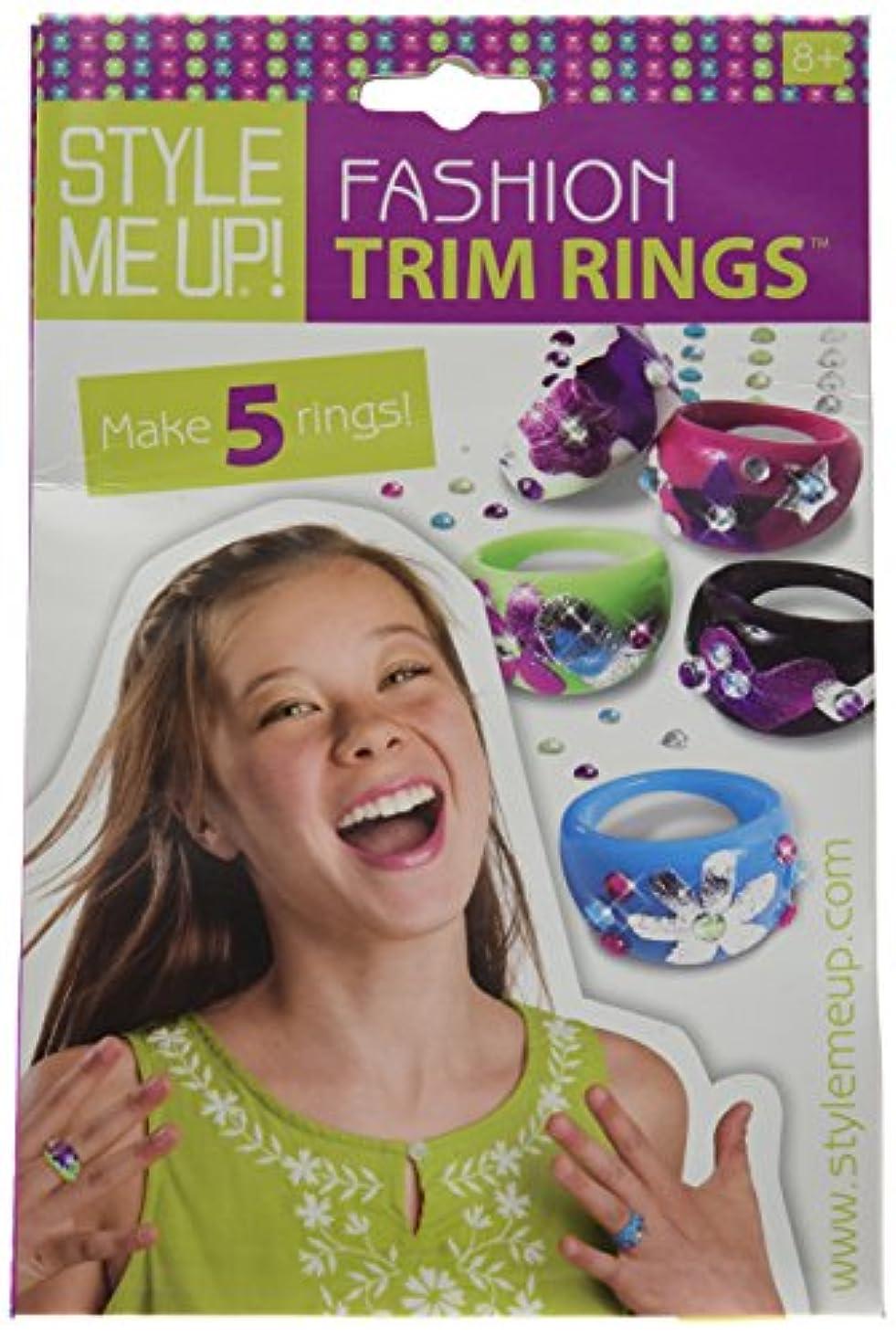 社会科予言する職業Style Me Up Fashion Trim Rings Kit- (並行輸入品)