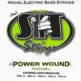 【 並行輸入品 】 SIT Powerwound NR545125L 5弦 45-125 Light Nickel Bass Strings
