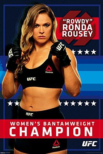 UFC–ロンダ・ラウジー–リーボックポスター印刷24x 36...