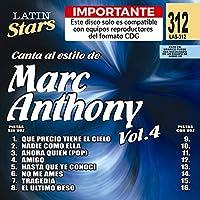 Vol. 4-Karaoke Latin Stars