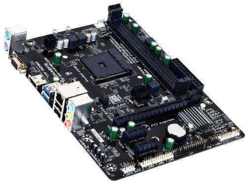 GIGABYTE マザーボード AMD Socket AM1 Micro ATX GA-AM1M-S2H