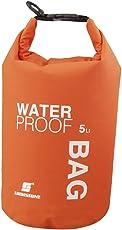 5L 防水アウトドアードライバッグ ドライチューブ  袋 バッグ 濡れ物入れ サーフィン ダイビング ウェットスーツ ウォータープロテクトバッグ