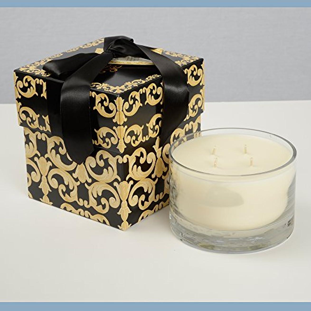 種類自然ほのめかすフランス市場 – Exclusive Tyler 40 oz 4-wick香りつきJar Candle