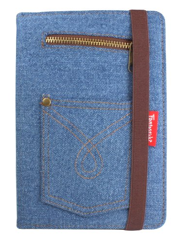 Fantastick Denim Case  (Bleach) for iPad mini IMN06-13A116-14