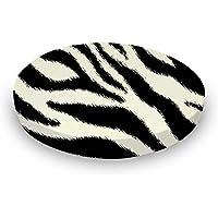 SheetWorld Round Crib Sheets - Zebra - Made In USA by sheetworld