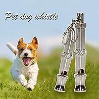 ペット犬のキーチェーンのための調節可能なピッチトレーニングホイッスル超音波高周波