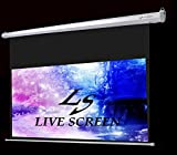 LIVE SCREEN 16:9 100インチ ロングタイプ 電動格納 プロジェクタースクリーン