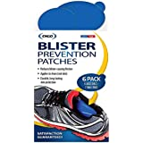 Engo Blister Prevention Patches (6-Pack of Oval Patches) - Anti Blister Pads For All Activities - Attaches to All Shoes, Insoles & Orthotics For Immediate Pain Relief & Long Term Blister Protection