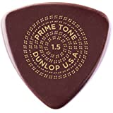 Dunlop Primetone Standard .73mm Sculpted Plectra with Grip - 3 Pack.2 3 Pack 1.5mm | Smooth