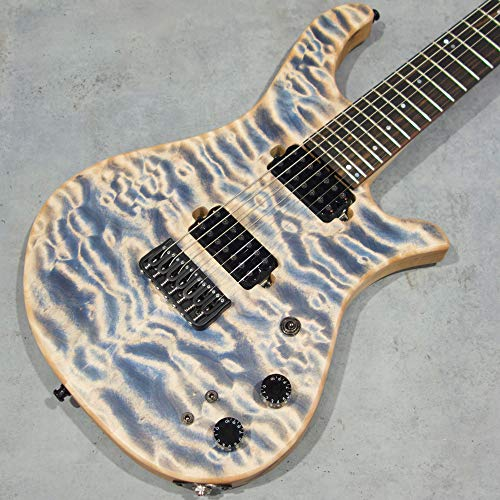 Overload Custom Guitars Rea7 Quilted Maple/Ash