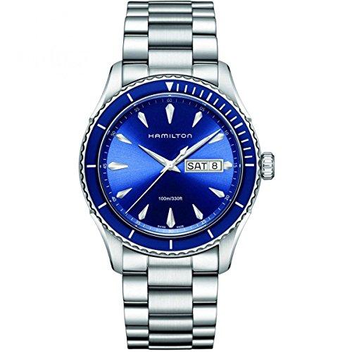 [ハミルトン]HAMILTON 腕時計 正規保証 Jazzmaster Seaview Day Date(ジャズマスター シービュー デイデイト) H37551141 メンズ 【正規輸入品】