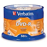 Verbatim 4.7GB up to 16x Recordable Disc AZO DVD-R 50-Disc Spindle 95101