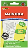 Main Idea Practice Cards Reading