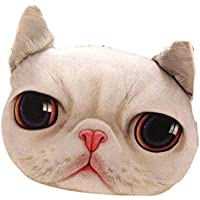 猫枕洗えるクッションクリスマスギフトファッション枕ホワイト