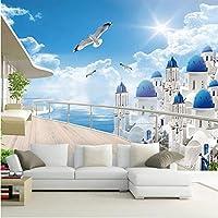 Xbwy ウォール街のための3D壁画の壁紙リビングルームの家の装飾のためのスペース-250X175Cm
