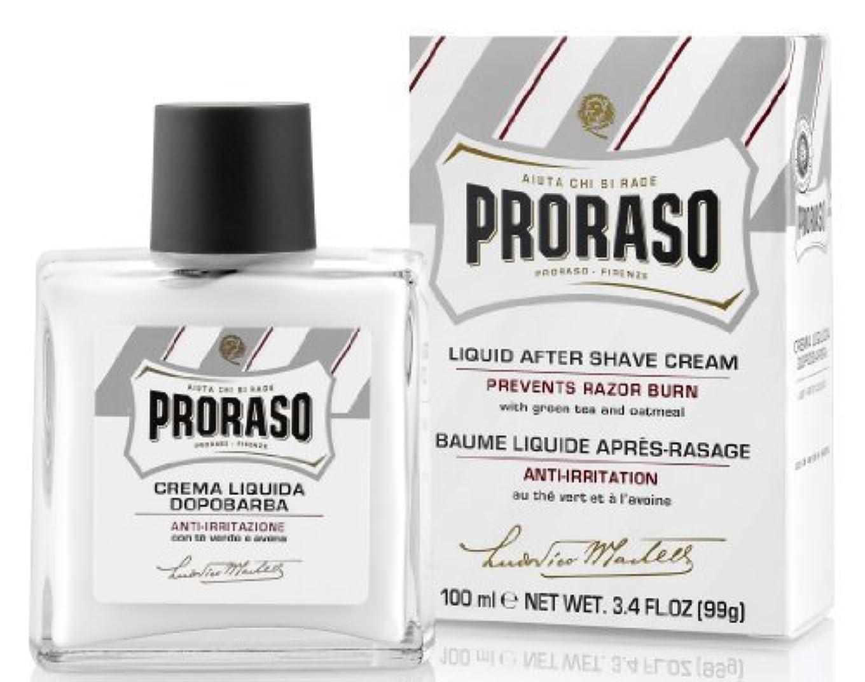 モットークレーン欠陥Proraso Proraso Liquid Cream After-Shave 3.4oz by Proraso [並行輸入品]