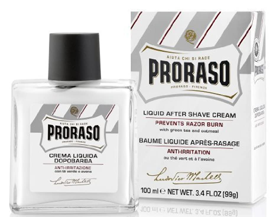 排気請う締めるProraso Proraso Liquid Cream After-Shave 3.4oz by Proraso [並行輸入品]