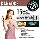 ASK-1549 Country Karaoke; Martina McBride Greatest Hits Vol. 1 by Martina McBride (2007-07-03)