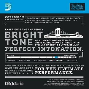 D'Addario ダダリオ ベース弦 ニッケル Long Scale .045-.100 EXL170TP 2setパック 【国内正規品】